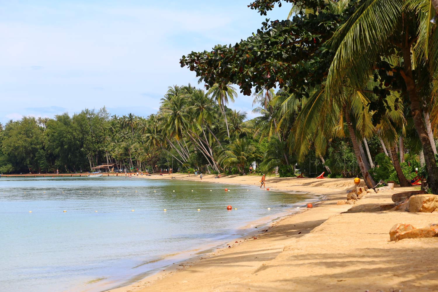 Koh Mak Beach - Administration and Economy