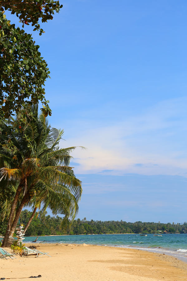The beautiful beaches of Koh Mak Island