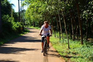 Bicycling in Koh Mak