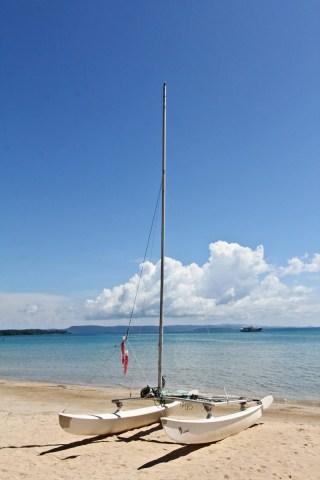 Discovering Koh Mak islands by hobbycat