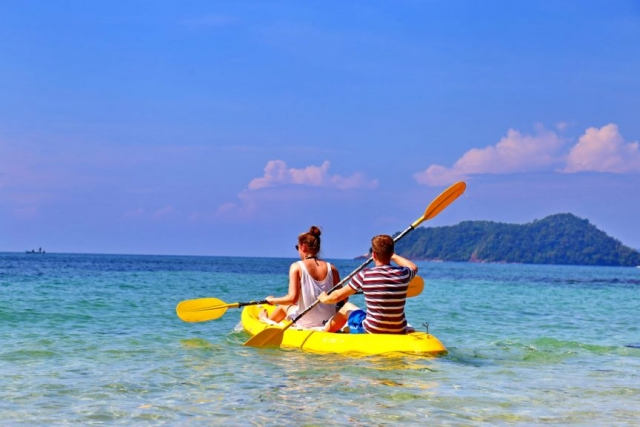 Island discovery by Kayak for rent
