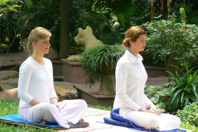 Meditation on the island
