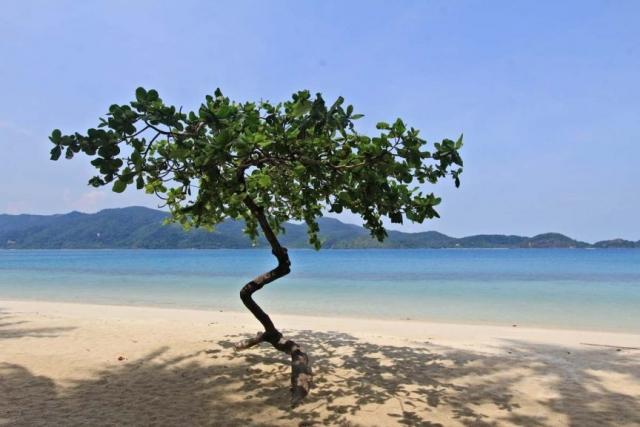 玛岛的沙滩是天堂