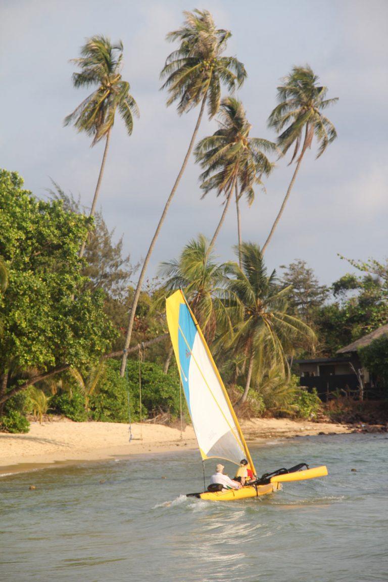 玛岛的水上运动