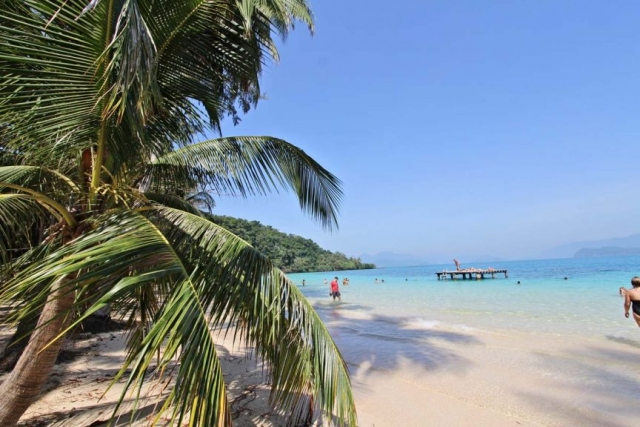 在玛岛的海滩生活