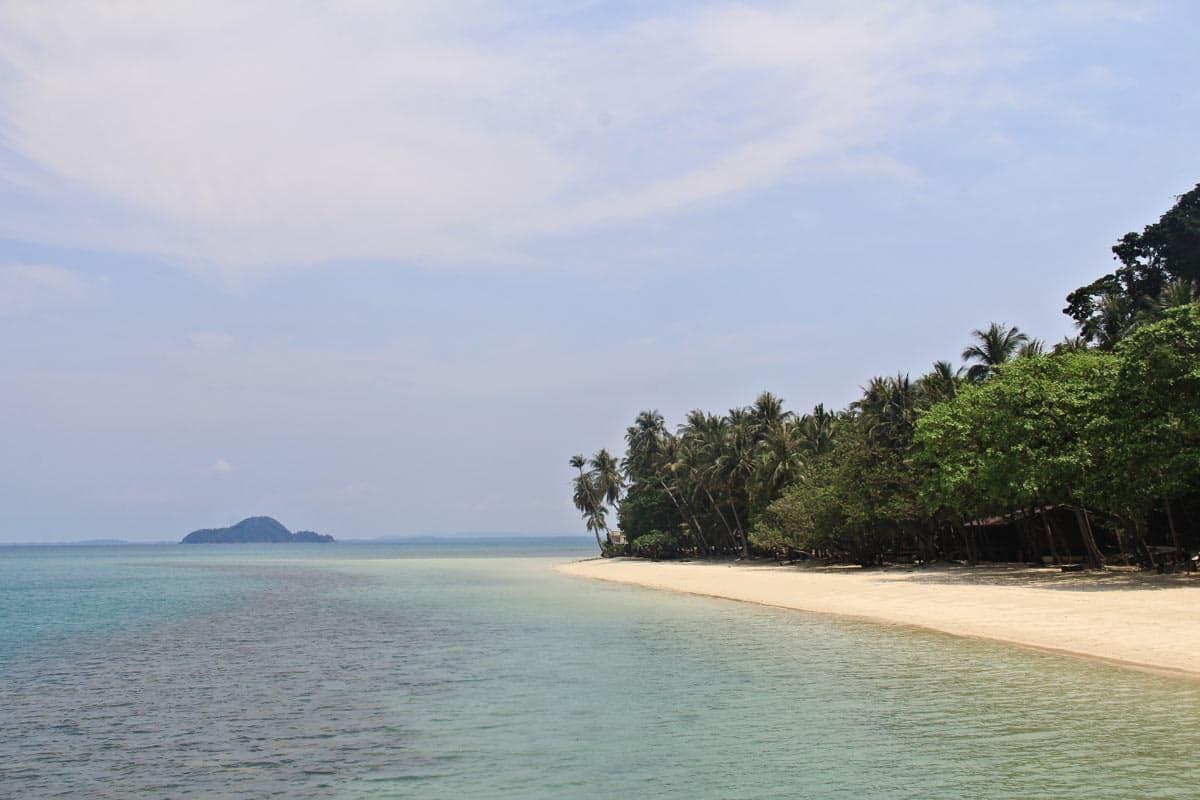 泰国的一些最好的海滩坐落于玛岛