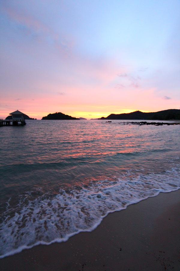 玛岛的日落